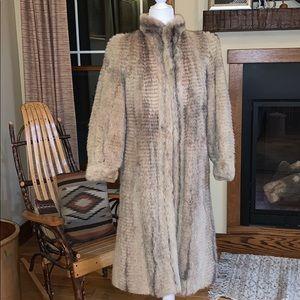 Full length fur coat Medium